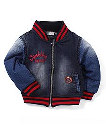 Little Denim Store Zipper Jacket - Blue