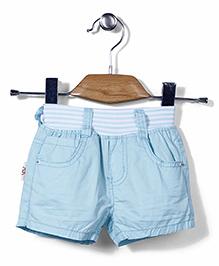 Little Denim Store Shorts - Aqua Blue