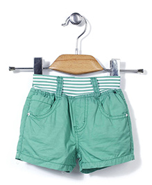 Little Denim Store Shorts - Green