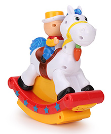 Playmate Swing Hobby Horse With Projection - Multicolor