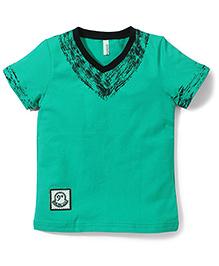 Baobaoshu Casual T-Shirt - Green