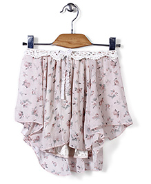 Candy Rush Floral Print Top - Pink