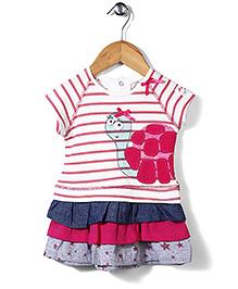 Little Wonder Tortoise Print Dress - Multicolour