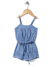 Candy Rush Singlet Jumpsuit - Blue
