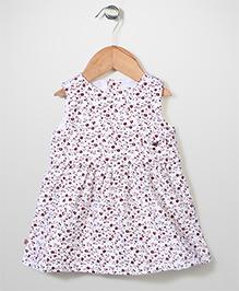 Miss Pretty Floral Dress - White