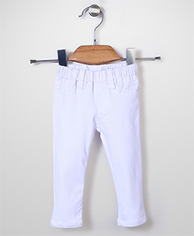 Candy Hearts Attractive Pant - White