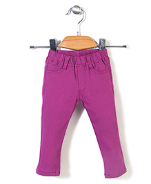 Candy Hearts Attractive Pant - Purple