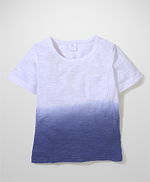 Candy Rush Double Shade T-Shirt - Blue & White