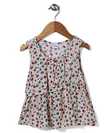 Candy Rush Floral Print Dress - Multicolour