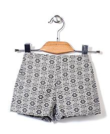 Candy Rush Casual Shorts - Grey
