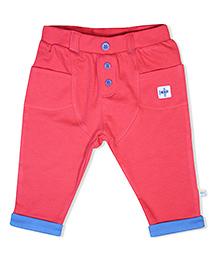 FS Mini Klub Pant Solid Color - Red