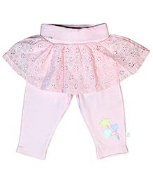 FS Mini Klub Skeggings Star Embroidery - Pink