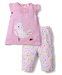 Candy Rush Top & Leggings Set - Pink
