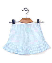 Candy Hearts Stylish Skirt - Blue