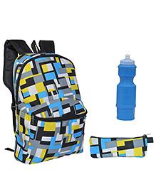 Avon Bags Sohopak Digi-Multi Color 15 Litres Backpack Combo - Set of 3