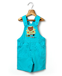 Beebay Dungaree Car Patch - Sea Green