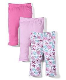 Urban Fashion Pack Of 3 Leggings - Multicolour