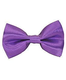 Tiekart Understated Royalty Bow Tie - Purple