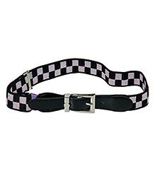Tiekart Holding It Up Dual Colour Belt - Black & Lavender