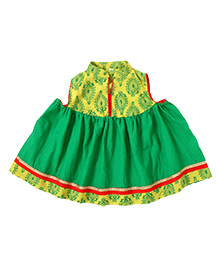 Little Pocket Store Ethnic Dress - Green