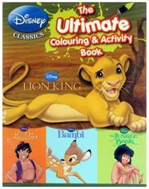 Disney Classics The Ultimate Colouring & Activity Book