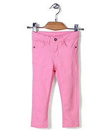 Sela Full Length Trouser - Light Pink