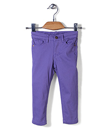 Sela Full Length Trouser - Purple