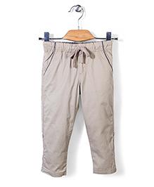 Sela Drawstring Trouser - Beige