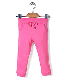 Sela Full Length Track Pant - Neon Pink