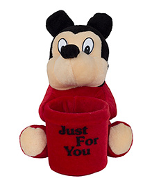 O Teddy Cute Toy Pen Holder - Red