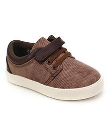 DingDingWa Stylish Baby Shoes - Brown