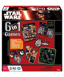 Wonderforge Star Wars 6 in 1 Games