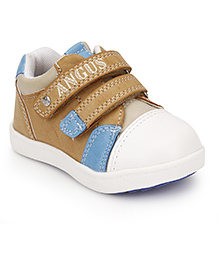 Little Paws Velcro Shoes - Brown