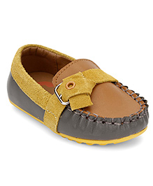 Little Paws Stylish Loafers - Brown