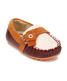 Little Paws Stylish Loafers - White