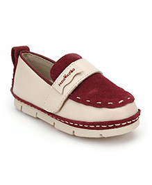 Little Paws Classy Loafers - Maroon