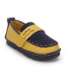 Little Paws Classy Loafers - Navy Blue