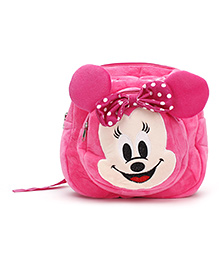 Soft Toy Bag Pink - 11 Inches