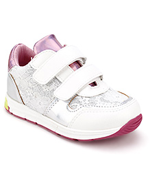 Little Paws Baby Shoes - White