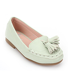 Little Paws Stylish Loafers - Light Green