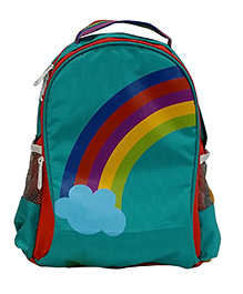 Star Gear Rainbow Backpack Turquoise And Orange - 14 Inches