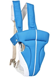 Fab N Funky Kangaroo Style 2 Way Baby Carrier  Blue & White