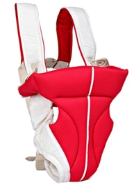 Fab N Funky Kangaroo Style 2 Way  Baby Carrier Red & White