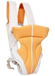 Fab N Funky Kangaroo Style 2 Way Baby Carrier - Orange N White