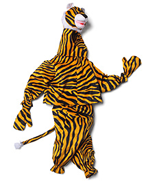 IR Jump Suits Tiger Theme Costumes - Brown & Black