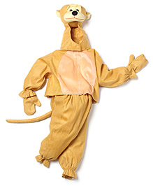 IR Jump Suit Monkey Theme Costume - Brown