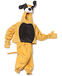 IR Jump Suits Dog Theme Costumes - Brown & Black