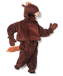 IR Jumping Suit Horse Theme Costumes - Brown