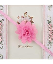 Pikaboo Headband Floral Applique - Light Pink - 845157