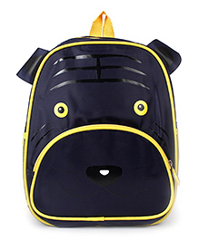 Puppy Face School Backpack - Black